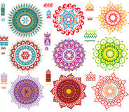 Round Pattern with Pattern brash Stock Photo