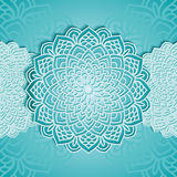 Round pattern in vector Stock Image