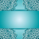 Round pattern in vector Royalty Free Stock Photo