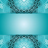 Round pattern in vector Royalty Free Stock Images