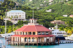 Round Pavilion in St Thomas Bay Stock Photos