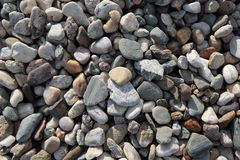 Round pebble stones Royalty Free Stock Image
