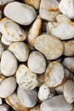 Round pebble stones Stock Photography
