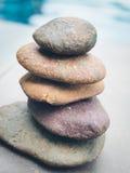 Round pebble stones Stock Image