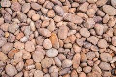 Round pebble stones Stock Images