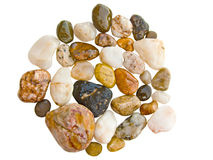 Round pebble stones Stock Image