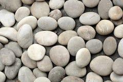 Round peeble stones background Royalty Free Stock Image