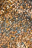 Round peeble stones background Royalty Free Stock Photography