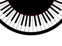 Round piano Royalty Free Stock Photos