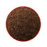 Round piece of soil Royalty Free Stock Photography