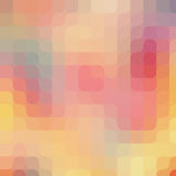 Round pixel art pattern. Colorful modern background Royalty Free Stock Photo
