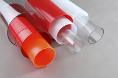 Round Plastic Tubes Stock Photos