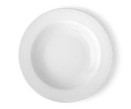 Round plate Royalty Free Stock Images