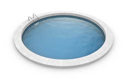 Round pool Royalty Free Stock Images