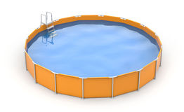 Round pool Royalty Free Stock Image