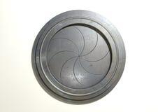 Round Portal Futuristic Door Stock Image