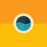 Round Porthole Stock Image