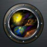 Round porthole Royalty Free Stock Image