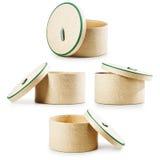 Round prezentów pudełka Obraz Stock