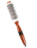 Round professional hairbrush Stock Image