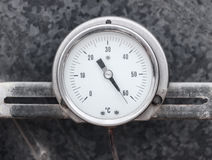 Round professional thermometer Stock Photos