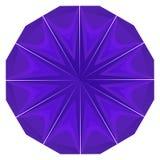 Round Purple Geometric Backdrop Royalty Free Stock Image