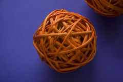 Round rattan Royalty Free Stock Images