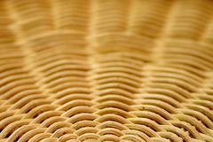 Round Reed Basket Pattern Royalty Free Stock Photography