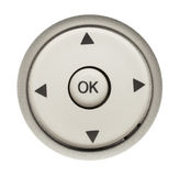 Round Remote Buttons Stock Photos