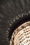 Round retro chandelier fragment Stock Photography