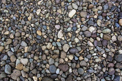 Round river rocks Royalty Free Stock Photo