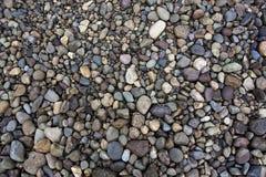 Round river rocks Royalty Free Stock Photo