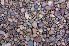 Round river rocks Royalty Free Stock Images