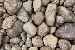 Round river rocks Stock Image