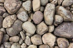 Round river rocks Stock Image