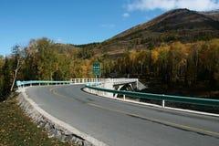 Round road Stock Photo