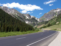 Round the Rockies Royalty Free Stock Image