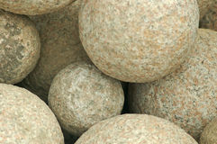 Round Rocks. A rounded rock textured background Royalty Free Stock Image