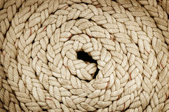 Round Rope. A texture of a big Round Rope Royalty Free Stock Images