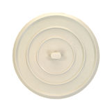 Round rubber sink stopper Royalty Free Stock Photography