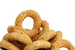 Round rusks Royalty Free Stock Images