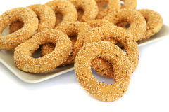 Round rusks stock photography