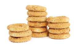 Round rusks royalty free stock photography