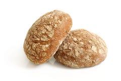 Round rye buns Stock Image