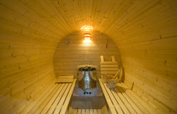 Round sauna Royalty Free Stock Photos
