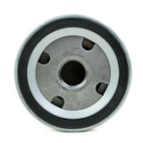 Round Screw-on Type Oil Filters For a car Stock Photo