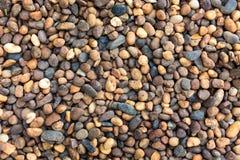 Round sea stones Stock Image