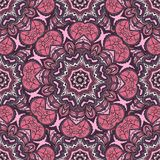 Round seamless pattern Royalty Free Stock Photography