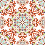 Round seamless pattern Stock Photography