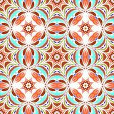 Round seamless pattern Royalty Free Stock Images